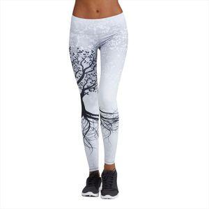 Women Fitness Printed Leggings Sports Workout Gym Athletic Leggin Pants Black Athletic High Waist Slim Pants 5$