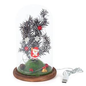Decorative Lamp Father Christmas Gift Girl Child Santa Claus LED Gift String Table Bedside Bedroom Room Bedside Lantern
