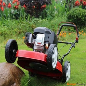 20inch Electric Garden Lawn Cutters Power Lawn Mower With Four-stroke Gasoline Self-propelled Or Hand-push Lawn Mower Weeder