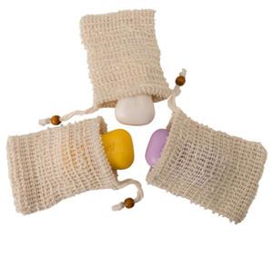 Мыло мешок сетка мешок отшелушивающий для ванной хлопок белья Мыло экономайзер Подходит для пенообразования для удаления омертвевшей кожи Свободного DHL
