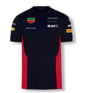 2020 nova T-shirt de manga curta ao ar livre motocicleta off-road camisa POLO locomotiva venda quente terno dos homens de corrida F1