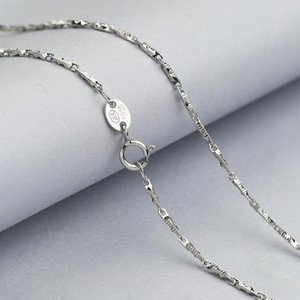 Martick New Arrival Rhombus Flower Link Chain for 925 Silver Statement Link Chain Necklace GSC22