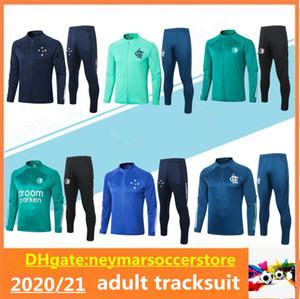2020 2021 Feyenoord Flamengo Fußball Trainingsanzug Chandal Soccer Jacket Flamenco Diego 20 21 Cruzeiro Camisas de Futebol Traininganzug