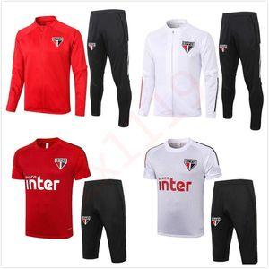 20 21 Sao paulo Survêtement veste de soccer 2020 Survetement 2021 Sao paulo DANI ALVES Survêtement de football vestes de jogging chandal futbol
