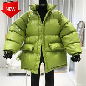Otton فضفاض الإناث سترة معطف السيدات مع حزام الشتاء معطف المرأة ستر الدافئة أسفل قميص chaqueta