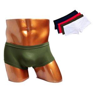 Lelinta heiße baumwolle boxer atmungsaktive kühle männer unterwäsche massiv farbe hohe qualität kurze