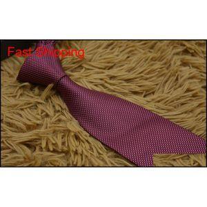 New Styles Fashion Men Ties Silk Tie Mens Neck Ties Handmade Wedding Party Letter Necktie Italy 13 Style Business qylnET queen66