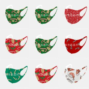 Navio Donald Trump 2020 Rosto de Natal Mask pano anti-poeira Natal Fun Cotton EUA WomanUnisex forma do inverno lavável Par Christma # 813123143666