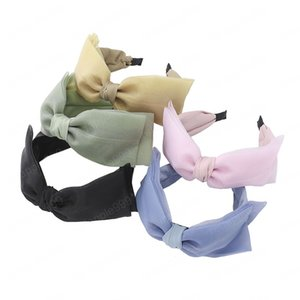 Women Knot Cross Headband Adjustable Girls Hair Band No Sliding Knotted Head Female Four Seasons Available Lady Hair Accessories