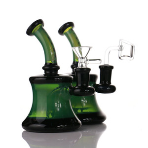 Mini Glass Bongs 14mm Female Joint 5.5 inch Glass Oil Rigs Thick Pyrex Glass Water Pipes Dab Rigs