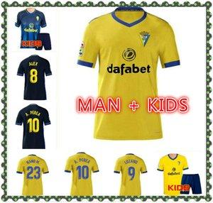 2020 2021 CADIZ Fussball Trikots 20 21 CADIZ CF GARRIDO Home Männer Shorts Camisetas de Futbol Fernandez 2020 Gelb Carmona Football Hemd