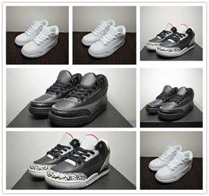 2019 nouveau 3 III J3 Cut bas jeunes fille garçon chaussures de basket-ball d'enfants d'enfant du sport Sneaker taille 28-35