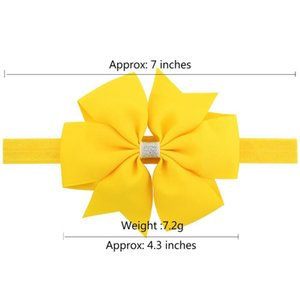 1piece Lovely Elegant Silver Bow Headband Hair Bands Shining Hair Accessories Solid Color Hair Accessories For Kids 750 Q jlldtx