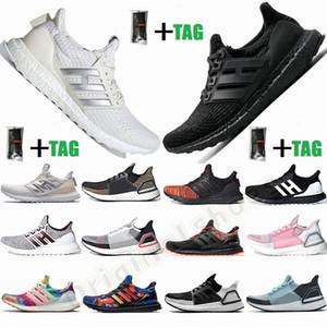 Yeni Varış Ultraboost 3.0 4.0 Koşu Ayakkabıları Ultra Boost 19 20 Primenk Eğitmenler Siyah Duman Gri Beyaz Bayan Erkek Spor Sneakers