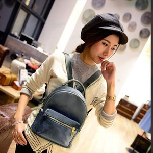 anti theft Women Gold Velvet Small Rucksack Backpack School Book Shoulder Bag School Backpack For Teenage Dropship