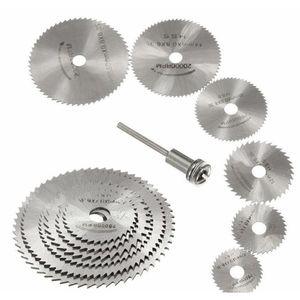 7pcs mini hss circular saw blade rotary tool for dremel metal cutter power tool set wood cutting discs drill woodworking tool