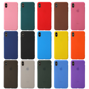 Matte TPU Phone Phone Case For iPhone 11 PRO MAX iphone XR XS MAX 6 7 8 Plus back Protective phone cases