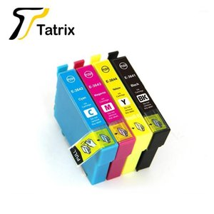 Tatrix For 364XL compatible ink cartridge printer T3641 T3642 T3643 T3644 used in Expression Home XP-245   XP-4421