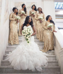 Plus Size African Mermaid Wedding Dress Sweetheart Major Beading Tiered Skirts Bridal Gowns Sweep Train Garden Wedding Dresses