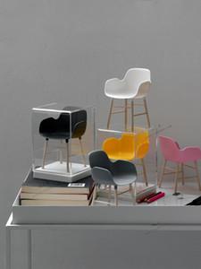 شكل الكرسي مصغرة بليث 1/6 BJD دمية الأثاث اللعب نموذج الدمى الحلي الاكسسوارات كرسي جنية حديقة المنزل ديكور 1007