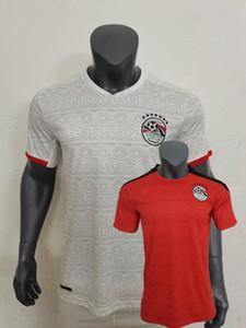 19 20 이집트 타이츠 드 풋 축구 저지 홈 카 하바 M.SALAH 2019 2020 축구 셔츠 Camiseta 드 풋볼 S-2XL