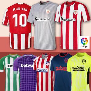MUNIAIN Athletic Bilbao fc Futebol 9 WILLIAMS CAMISETA DE FUTEBOL CANALES FEKIR João Félix Suarez Bartra Correa Homens crianças kit Jerseys