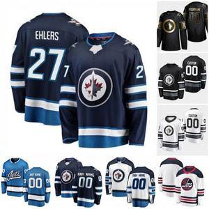 Costumbre Winnipeg Jets Nick Shore Nikolaj Ehlers Sami Niku Tucker Poolman Ville Heinola Jansen Harkins 2020 jerseys del hockey de las mujeres cosido