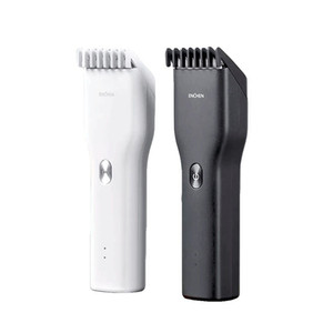 Xiaomi Mi Enchen Boost USB Electric Hair Clipper Two Speed Ceramic Cutter Hair Fast Charging Hair Trimmer Fast shipping