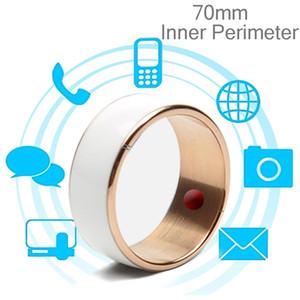 JAKCOM R3F 18K розовое золото Смарт кольцо Водонепроницаемый пылезащитный Health Tracker Wireless Sharing Нажмите Сообщение Внутренний Периметр 70мм