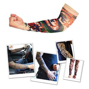 2Pcs Elastic Arm Warmer Skins Temporary Outside Hiking Riding Anti Sun Tattoo Sleeves Arm Stockings Tattoo