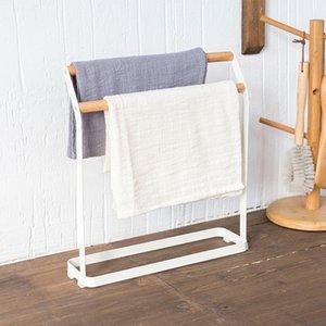 Suporte de toalhas de pé livre, cabide de prato de prato, suporte de toalha de mão, titular de toalha de chá, cozinha de metal carrinho de secagem T200915