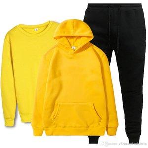 New Fashion Traje 2020 Hombres Sportswear Imprimir Hombres Sudaderas con capucha Pullover Hip Hop Mens Tacksuit Sudadera Ropa