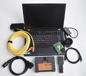 OBD2 Diagnóstico para el escáner de diagnóstico de BMW ICOM A2 B C con laptop T410 i5 HDD 750GB Completo Versión especial coreana Versión especial Listo para usar