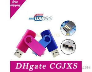 Металл Поворотный USB Flash Drive Pen Drive 64GB Usb 2 +0,0 USB флэшки Flash Drive
