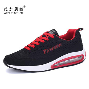 Tennis Shoes For Men Women 2020 New Breathable Fitness Sneakers Couple Air Cushion Gym Sports Shoes Men Training Athletic with logo