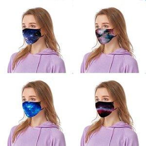Imprimé Ciffon extérieur Foulard en soie antipoussière Magic Mask 14 Styles Dener Andkercief Fa Fa Ma Alf Windproof # 845 # 258 Sunsade femmes Imprimé GFIM