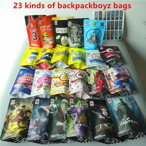 Nuovo arrivo 24 tipi di zaino boyz 420 Flowers borse 3,5 grammi di banana latte tomyz zaino boyz a prova di bambino fortunati Gelato borse merzgato