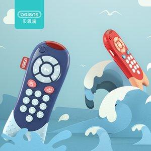 Beiens Baby Brinquedos Telefone Celular para Crianças Telefone Musical Brinquedo Infant Crianças Educacionais Brinquedos Telefone Crianças Presente de Aniversário 200928