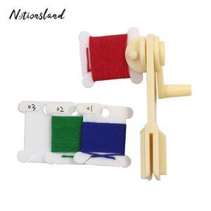 30шт пластиковые резьбы Катушки резьбы CardString Winder для Holder вышивки Нитки для вышивки крестом хранения зубочистки Швейные инструменты