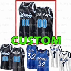 Orlando personnaliséla magieJonathan 1 Isaac Markelle 20 Fultz Aaron 00 Gordon Mohamed Evan 10 Fournier Bamba Vucevic Basketball Basketball Jerseys