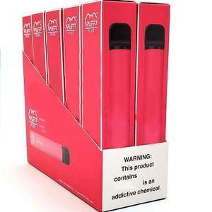 Puf Çubuğu Artı Tek Kullanımlık Cihaz Boş Pod Starter Seti Yükseltildi 550 mAh Pil 3.2ml Kartuş Vape 40 Renk XXL XTRA Puff