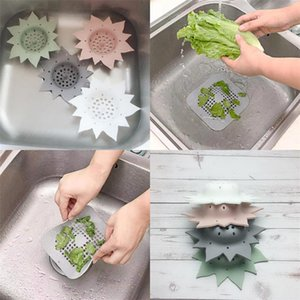 Frsilicone Infuser Floor Drain Cap Square Flower Filter Screen Pool Strainer Anti Clogging Kitchen Tool Hot Sale 2 5tx Uu