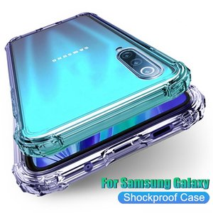 coque Iphone 12 Pro Max Phone Cases iphone 11 pro XS Max XR 8 Samsung S20 Note20 Ultra Transparent Shockproof Acrylic Hybrid Armor Hard