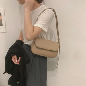 Kadınların ilkbahar / yaz için Küçük tasarım fabang çanta koltukaltı çanta tek omuz çanta C1114 yönlü 2020 yeni online Kırmızı ins