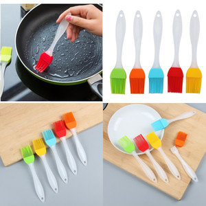 Newest Silicone Brush Baking Bakeware Bread Cook Brushes Pastry Oil Non-stick BBQ Basting Brushes Tool Best Kitchen Gadget 160 K2