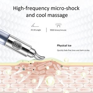 Electric Massager Eye Cream Anti Wrinkles Eye Serum Roller Massager Eye Patches Anti Puffiness Dark Circles Against PuffinessRab