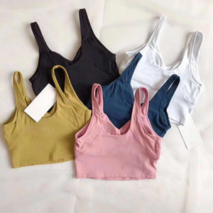 Canada Fashion Yoga Align Tank Top Women Align Sport Yoga Vest Gym Fitness Yoga Running Jogging Vest Tops Yogaworld Gym
