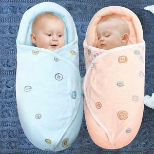 0-8M Newborn Baby Cotton Blanket Swaddle Cute Cartoon Toddler Winter Warm Sleeping Bags Sleep Sack Little Baby Stroller Wrap1