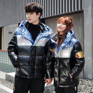 Women Hooded Light Down Jacket Ultra Light Puffer Jacket Solid Down Big Size Womens Jackets Couples Unisex Parka womens winter jacket