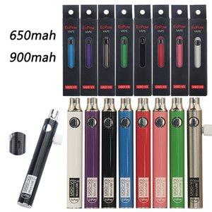ECPow Ugo V3 510 Thread Bateria Variável Tensão Micro USB Recarregável Ego Vape Pen 650 900 Mah VV Preérear carregador
